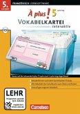 Vokabelkartei interaktiv (cycle long), CD-ROM / À plus! Bd.5