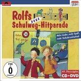 Rolfs neue Schulweg-Hitparade, 1 CD-Audio + 1 DVD