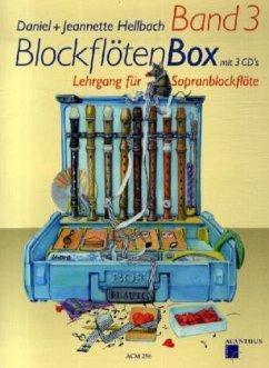 BlockflötenBox, m. 3 Audio-CDs
