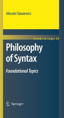 Philosophy of Syntax - Foundational Topics - Talasiewicz, Mieszko
