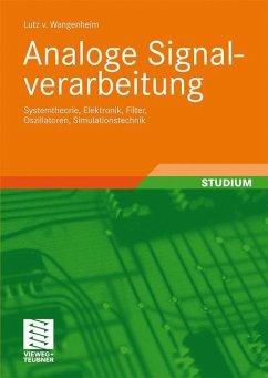 Analoge Signalverarbeitung - Wangenheim, Lutz von