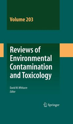 Reviews of Environmental Contamination and Toxicology Vol 203 - Whitacre, David M. (Hrsg.)