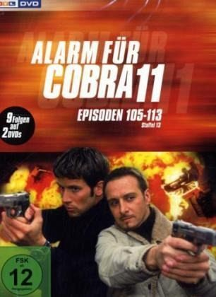 Alarm für Cobra 11 - Staffel 13 2 DVDs