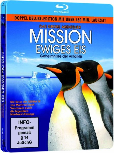 Mission Ewiges Eis (Steelbook, 2 DVDs)