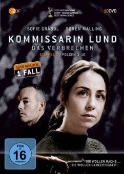 Kommissarin Lund: Das Verbrechen - Staffel 1 (10 DVDs) - Kommissarin Lund