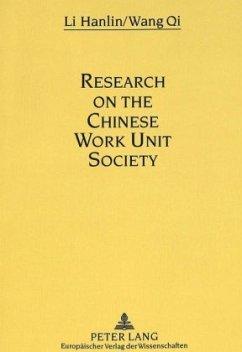 Research on the Chinese Work Unit Society - Li, Hanlin; Wang, Qi