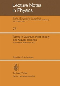 Topics in Quantum Field Theory and Gauge Theories