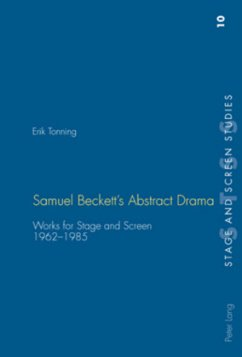 Samuel Beckett's Abstract Drama - Tonning, Erik