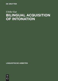 Bilingual Acquisition of Intonation