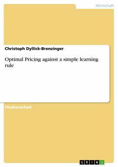 Optimal Pricing against a simple learning rule