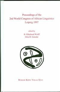 Proceedings of the 2nd World Congress of African Linguistics Leipzig 1997