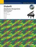 Melodische Übungsstücke op.149, Klavier (4-händig), m. Audio-CD