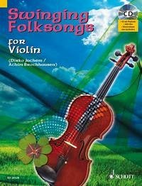 Swinging Folksongs for Violin, m. Audio-CD