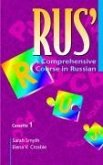 Rus': A Comprehensive Course in Russian Set of 4 Audio Cassettes