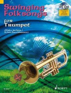 Swinging Folksongs for Trumpet, m. Audio-CD