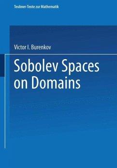 Sobolev Spaces on Domains