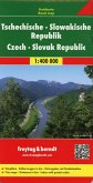Freytag & Berndt Autokarte Tschechische, Slowakische Republik; República Checa, Eslovaquia. Tsjechie, Slowakije; Czech,