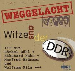 Weggelacht - Witze aus der DDR, 1 Audio-CD