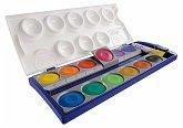 Pelikan Deckfarbkasten K12, 12 Farben und 1 Tube Deckweiß