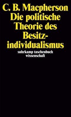 Die politische Theorie des Besitzindividualismus - Macpherson, Crawford B.