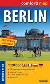 Comfort! map, pocket map Berlin