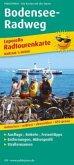 PublicPress Leporello Radtourenkarte Bodensee-Radweg, 22 Teilktn.