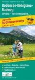 PublicPress Leporello Radtourenkarte Bodensee-Königssee-Radweg, 33 Teilktn.