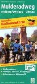 PublicPress Leporello Radtourenkarte Mulderadweg, Freiberg/Zwickau - Dessau