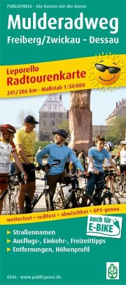 PublicPress Leporello Radtourenkarte Mulderadwe...
