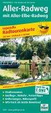 PublicPress Radwanderkarte Aller-Radweg mit Aller-Elbe-Radweg, 27 Teilktn., Auch für E-Bike