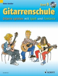 Gitarrenschule, m. Audio-CD