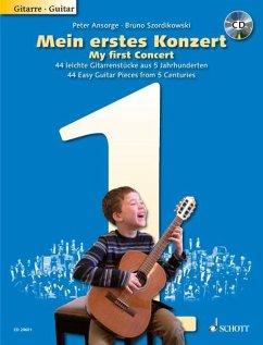 Mein erstes Konzert, Gitarre, m. Audio-CD