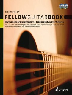 Fellow Guitar Book, m. Audio-CD u. DVD - Fellow, Thomas
