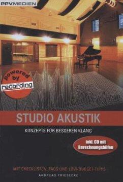 Studio Akustik, m. CD-ROM