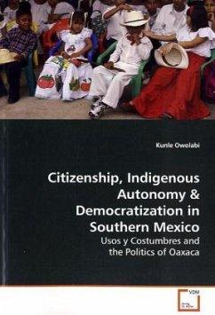 Citizenship, Indigenous Autonomy