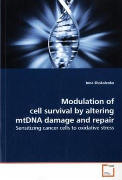 Modulation of cell survival by altering mtDNA d...