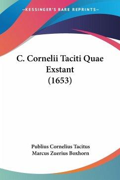 C. Cornelii Taciti Quae Exstant (1653)