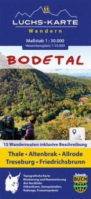 Schmidt-Buch-Verlag / Schmidt-Buch-Vlg Luchskarte Bodetal