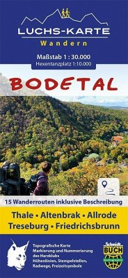 Schmidt-Buch-Verlag / Schmidt-Buch-Verlag Thorsten Schmidt Luchskarte Bodetal