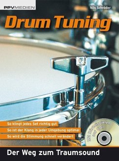 Drum Tuning, m. Audio-CD