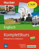 Komplettkurs Englisch, 2 Übungsbücher, 2 Begleithefte u. 8 Audio-CDs