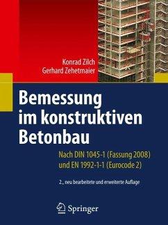 Bemessung im konstruktiven Betonbau - Zilch, Konrad; Zehetmaier, Gerhard