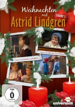 Weihnachten mit Astrid Lindgren, 1 DVD