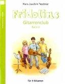 Fridolins Gitarrenclub, für 3 Gitarren, Spielpartitur