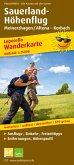 PublicPress Leporello Wanderkarte Sauerland-Höhenflug, Meinerzhagen / Altena - Korbach