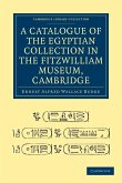 A Catalogue of the Egyptian Collection in the Fitzwilliam Museum, Cambridge