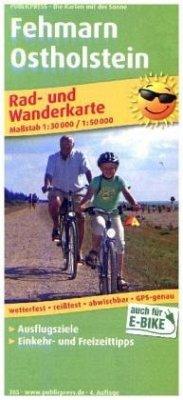 PublicPress Rad- und Wanderkarte Fehmarn - Osth...