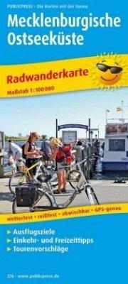 PublicPress Radwanderkarte Mecklenburgische Ost...