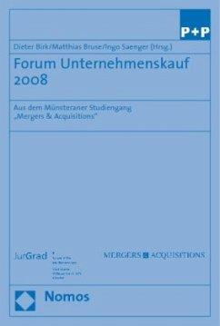 Forum Unternehmenskauf 2008