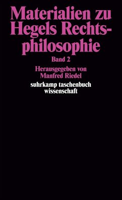 Materialien zu Hegels Rechtsphilosophie. Band 2